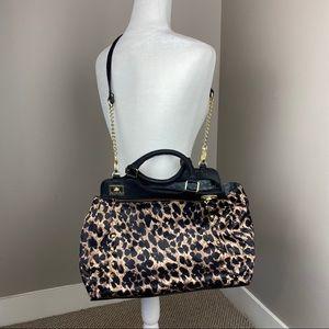 OLIVIA + JOY ANIMAL PRINT SHOULDER BAG/ HAND PURSE